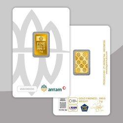 Harga Emas Antam Hari Ini Terpantau Turun Sebesar Rp7000/gram